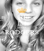 HI IM JAYNA RODGERS  - Personalised Poster A4 size