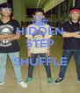 HIDDEN STEP  SHUFFLE  - Personalised Poster A4 size