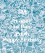 Hieper de Piep Hoeraaa Edith Happy Birthday - Personalised Poster A4 size