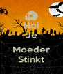 Hoi Je  Moeder Stinkt - Personalised Poster A4 size
