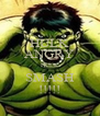 HULK ANGRY HULK SMASH !!!!! - Personalised Poster A4 size