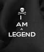 I  AM A LEGEND  - Personalised Poster A4 size