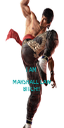 I AM  MARSHALL LAW BITCH!! - Personalised Poster A4 size