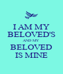 I AM MY BELOVED'S AND MY BELOVED IS MINE - Personalised Poster A4 size