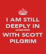 I AM STILL DEEPLY IN LESBIANS WITH SCOTT PILGRIM - Personalised Poster A4 size