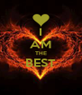 I AM THE BEST  - Personalised Poster A4 size