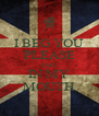 I BEG YOU PLEASE FART IN MY MOUTH - Personalised Poster A4 size