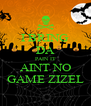 I BRING DA PAIN IT AINT NO GAME ZIZEL - Personalised Poster A4 size