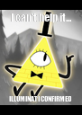 I can't help it... ILLUMINATI CONFIRMED - Personalised Poster A4 size