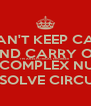 I CAN'T KEEP CALM AND CARRY ON I'M AN ELECTRICAL ENGINEER I NEED COMPLEX NUMBERS TO SOLVE CIRCUITS - Personalised Poster A4 size