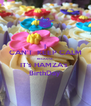 I CAN'T  KEEP CALM BECAUSE IT's HAMZA's  BirthDay - Personalised Poster A4 size