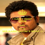 I CAN'T KEEP CALM coz IT IS MR.KAAKI SATTAI'S BDAY ;) - Personalised Poster A4 size