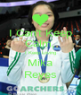 I Can't Keep Calm, I Keep Loving Mika Reyes - Personalised Poster A4 size