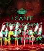 I CAN'T KEEP CALM CAUSE IT'S MY BIRTHDAY TOMMOROW - Personalised Poster A4 size