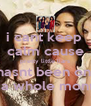 i cant keep  calm cause pretty little liars hasnt been on  in a whole month! - Personalised Poster A4 size