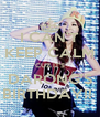 I CAN'T KEEP CALM 'CUZ IT'S DARONG'S BIRTHDAY!!  - Personalised Poster A4 size