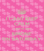 I CANT KEEP CALM I get to see SIMONE ON SATURDAY - Personalised Poster A4 size