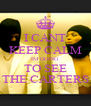 I CANT KEEP CALM IM GOING TO SEE THE CARTERS - Personalised Poster A4 size