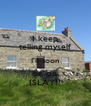 I keep telling myself I'll soon be on ISLAY!! - Personalised Poster A4 size