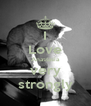 I Love Anastasia very strongly - Personalised Poster A4 size