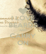 I LOVE BEARDS AND CARRY ON - Personalised Poster A4 size