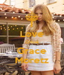 I Love Chloë Grace Moretz - Personalised Poster A4 size