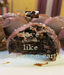 i  love  chocolate  like  heaven on earth  - Personalised Poster A4 size