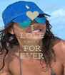 I LOVE CRISTY FOR EVER - Personalised Poster A4 size
