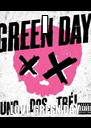 I LOVE GREEN DAY - Personalised Poster A4 size