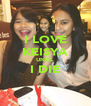 I LOVE KEISYA UNTIL  I DIE  - Personalised Poster A4 size