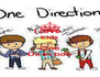 I love  kids  of One Direction - Personalised Poster A4 size