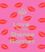 I  Love  Nekitra Shanae Norries - Personalised Poster A4 size