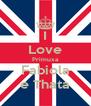 I Love Primuxa Fabiola e Thata - Personalised Poster A4 size