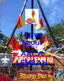 I Love Scout SMPn 7 ARCA LEMBAH - Personalised Poster A4 size