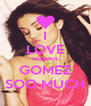 I LOVE SELENA GOMEZ SOO MUCH - Personalised Poster A4 size