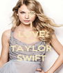 I LOVE THE TAYLOR SWIFT - Personalised Poster A4 size
