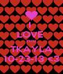 I  LOVE  YHU  TKAYLA 10-23-13 <3 - Personalised Poster A4 size