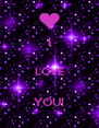 I  LOVE  YOU! - Personalised Poster A4 size