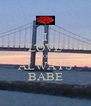 I LOVE YOU ALWAYS BABE - Personalised Poster A4 size