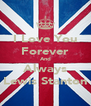I Love You Forever And Always Lewis Stanton - Personalised Poster A4 size