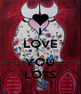 I LOVE  YOU LOTS - Personalised Poster A4 size