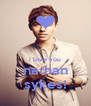 i love you nathan sykes! - Personalised Poster A4 size