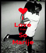 I Love You So Marije - Personalised Poster A4 size