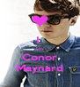 I  Luv Conor Maynard - Personalised Poster A4 size