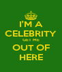 I'M A CELEBRITY GET ME OUT OF HERE - Personalised Poster A4 size