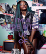 I'M A RUDE BITCH, NIGGA, WHAT ARE YOU MADE UP OF - Personalised Poster A4 size