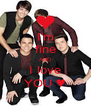 I'm fine ΑND I love YOU ♥ - Personalised Poster A4 size