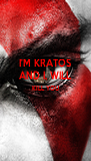 I'M KRATOS AND I, WILL KILL YOU   - Personalised Poster A4 size