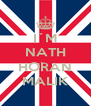 I´M NATH  HORAN MALIK - Personalised Poster A4 size