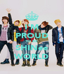 I'M PROUD TO BE SHINee WORLD - Personalised Poster A4 size
